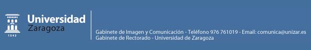 Gabinete de imagen y comuncaci�n.- Universidad de Zaragoza