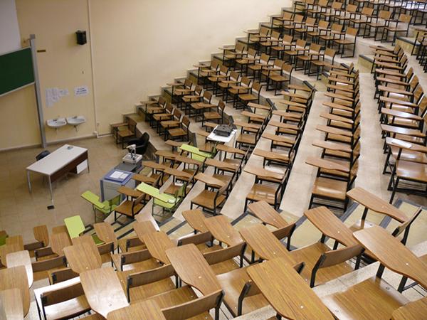 Aula Facultad de Medicina. Campus San Francisco