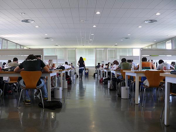 Biblioteca Facultad de Derecho. Campus San Francisco