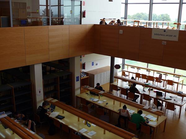 Biblioteca Escuela Politécnica Superior. Campus de Huesca