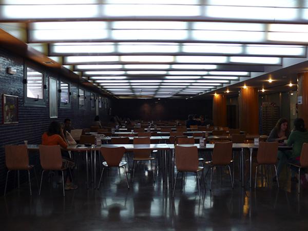 Cafetería Facultad de Derecho. Campus San Francisco
