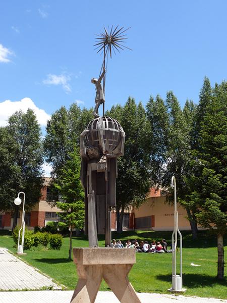 Exteriores. Campus de Teruel