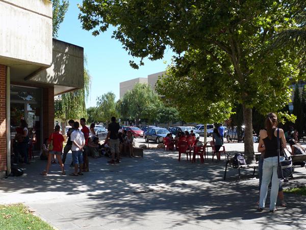 Exteriores. Facultad de Veterinaria. Campus Miguel Servet