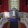 Estatua Santiago Ramón y Cajal. Escalera Edificio Paraninfo