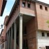 Fachada Colegio Mayor Ramón Acín. Campus de Huesca