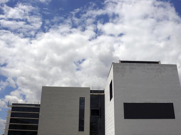 Fachada Facultad de Bellas Artes. Campus de Teruel