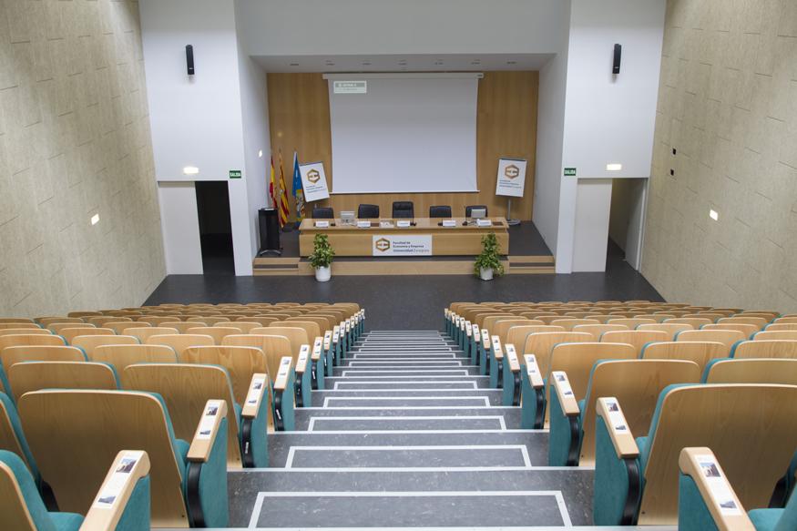 Salón de Actos Campus Río Ebro
