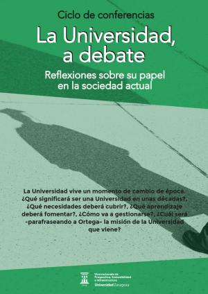 La Universidad a debate, ciclo de conferencias