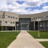 Fachada Facultad de Ciencias Sociales y Humanas. Campus de Teruel